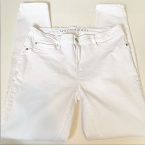 Articles of Society | Sarah Skinny White Jeans